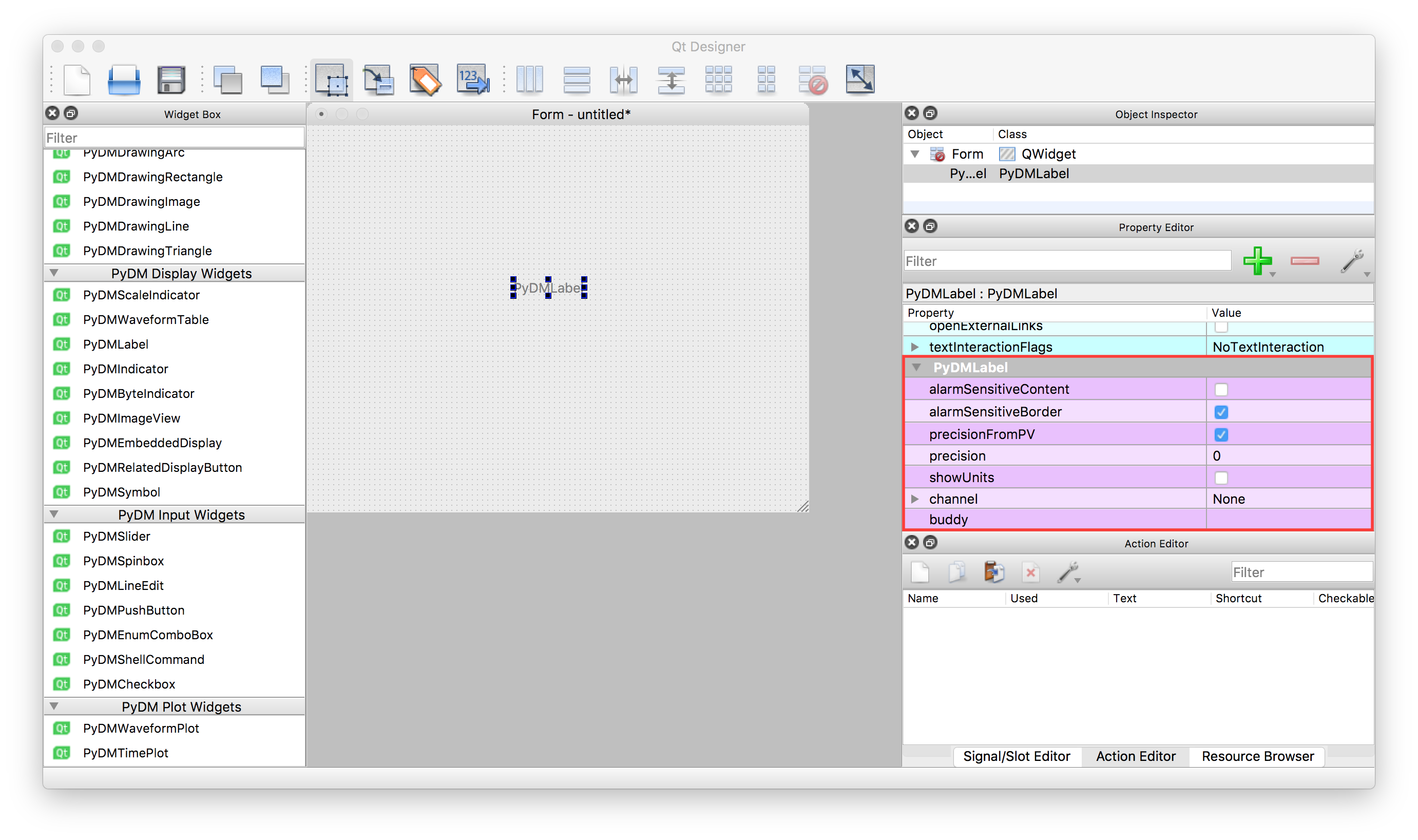 Introduction to Qt Designer — PyDM Tutorial 0 0 1 documentation